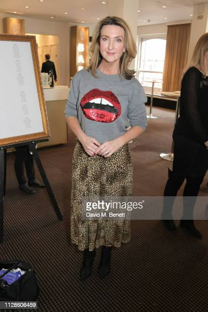 Victoria Derbyshire attends Turn The Tables 2019 hosted by Tania Bryer and James Landale in aid of Cancer Research UK at BAFTA on March 4 2019 in...
