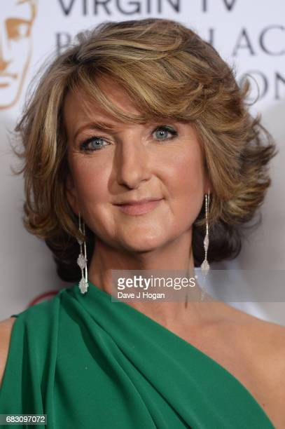Victoria Derbyshire poses in the Winner's room at the Virgin TV BAFTA Television Awards at The Royal Festival Hall on May 14 2017 in London England