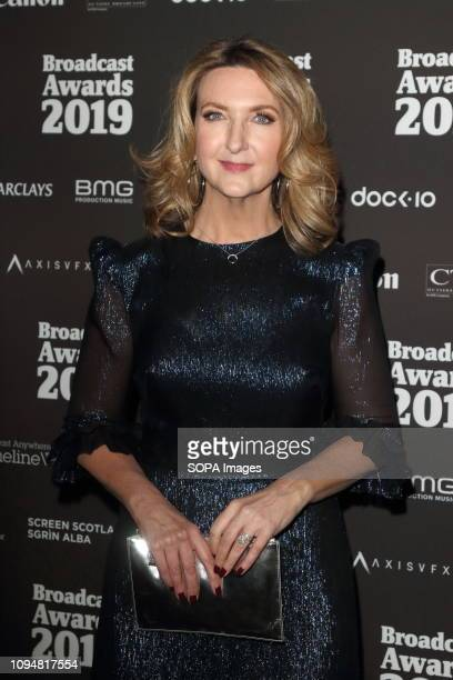 Victoria Derbyshire seen at The Broadcast Awards 2019 at the Grosvenor House Park Lane Mayfair