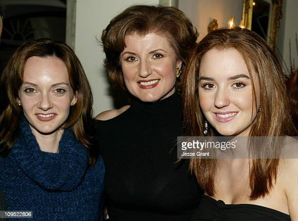 Victoria Duffy Arianna Huffington and daughter Christina