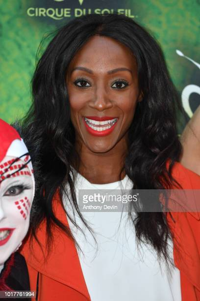Victoria Ekanoye attends the Cirque Du Soleil's OVO Premiere at The Liverpool Echo Arena on August 16 2018 in Liverpool England