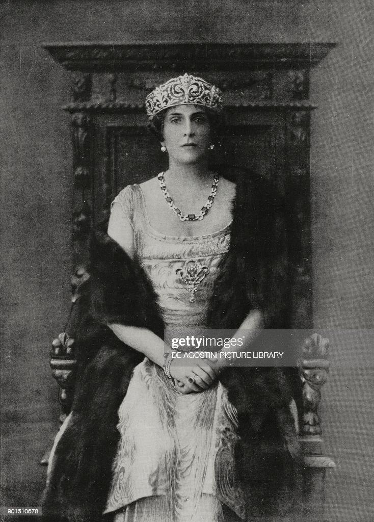 Victoria Eugenie of Battenberg (1887-1969) : News Photo