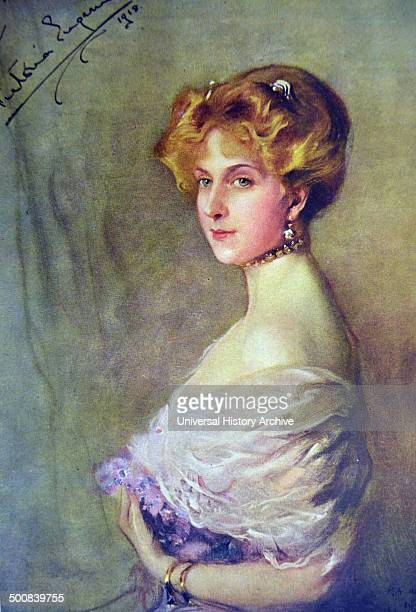 Victoria Eugenie of Battenberg was Queen of Spain as the wife of King Alfonso XIII