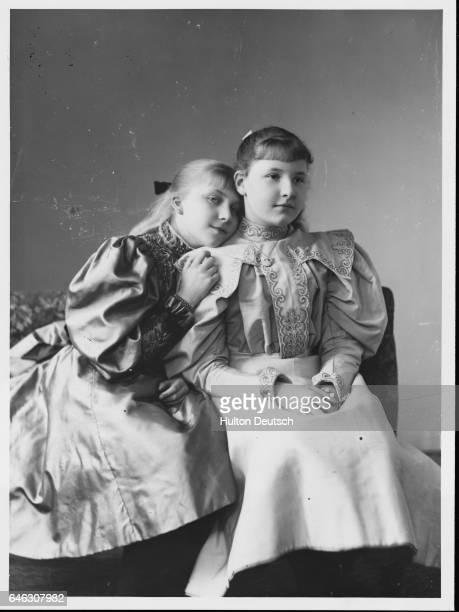 Victoria Eugenie of Spain and Marie Elisabeth of ErbachSchoenberg