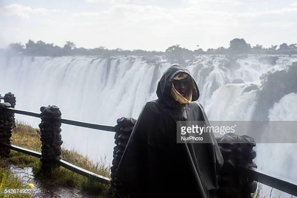 Victoria falls Livingstone Zambia on June 23 2016