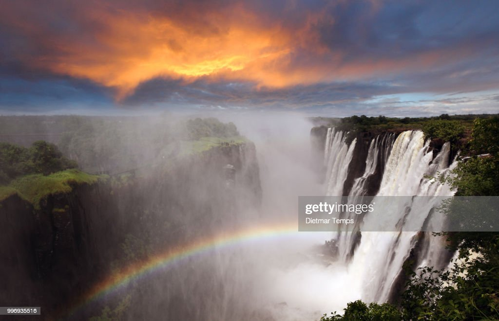 Victoria Falls, Livingstone, Zambia : Stock-Foto