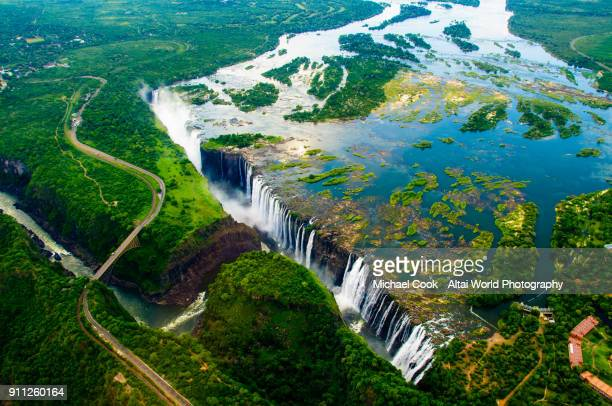 victoria falls - unesco stock pictures, royalty-free photos & images