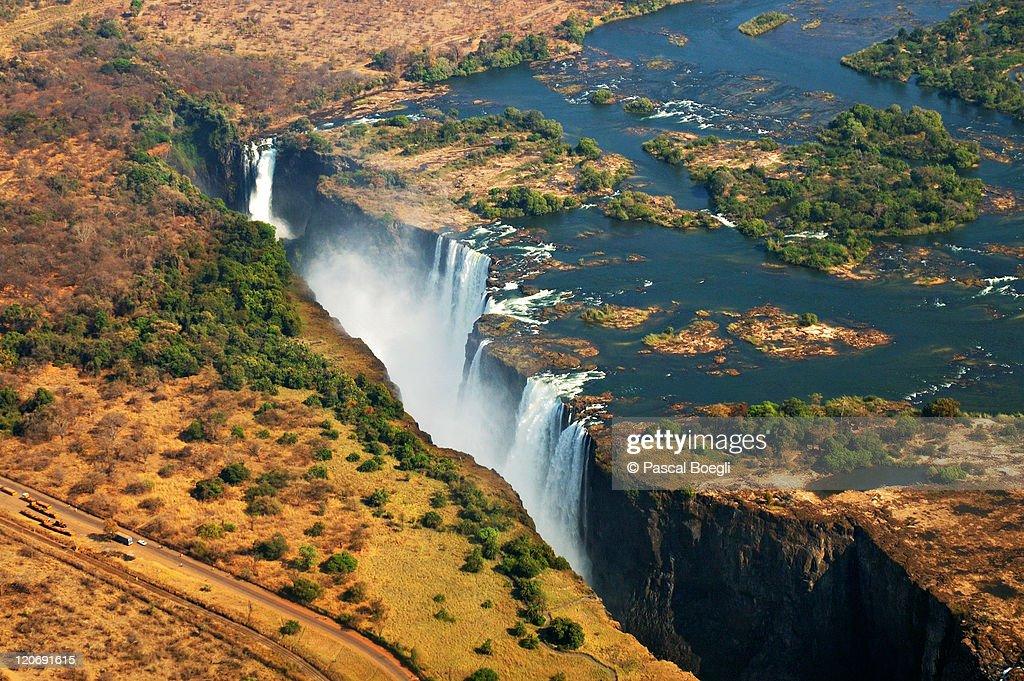 Victoria falls, Zambia : ストックフォト