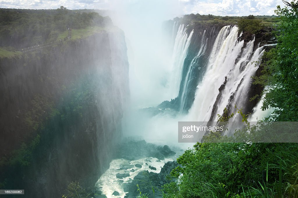 Victoria Falls, Zambia, Southern Africa : Stock Photo