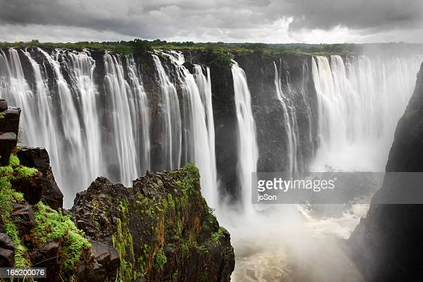 victoria falls, zimbabwe, southern africa - victoria falls stock pictures, royalty-free photos & images