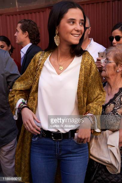 Victoria Federica de Marichalar y Borbon attends La Beneficiencia Bullfight at Las Ventas Bullring on June 12, 2019 in Madrid, Spain.
