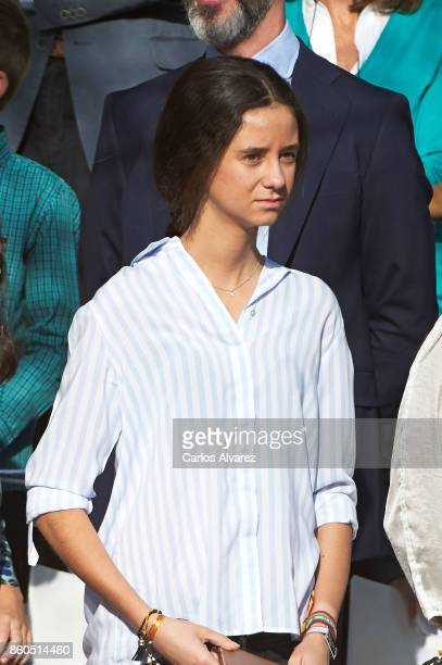 Victoria Federica Marichalar attends the National Day Military Parade 2017 on October 12 2017 in Madrid Spain