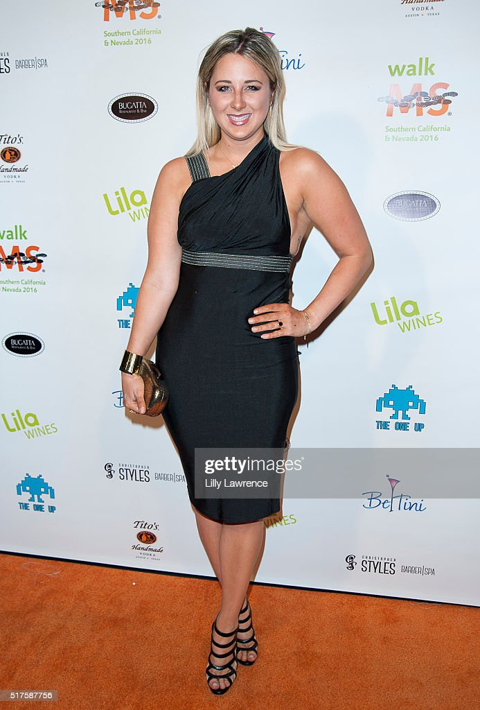 Victoria Fratz attends 3rd Annual LA's Walk MS Celebrity Kickoff Event at Bugatta Supper Club on March 25, 2016 in Los Angeles, California.