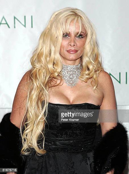 Victoria Gotti attends the Sean P Diddy Combs 35th Birthday Celebration on November 4 2004 in New York City
