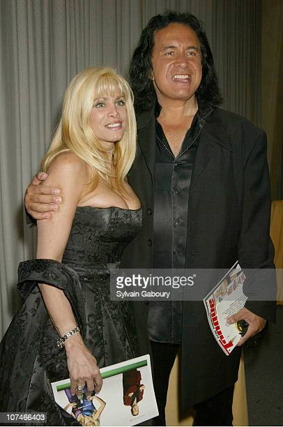 Victoria Gotti Gene Simmons during The Fragrance Foundation Celebrates 30 Years of The Fifi Awards at Avery Fisher Hall in New York New York United...