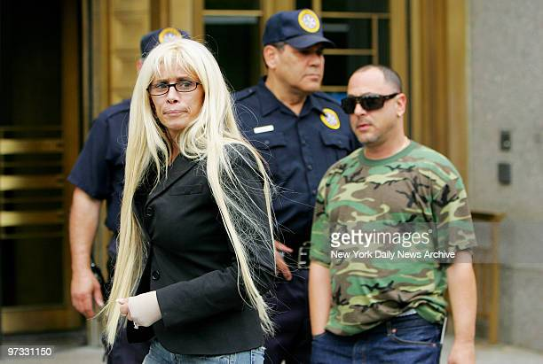 Victoria Gotti leaves Manhattan Federal Court after learning that her brother John A Gotti would be released on bail Last week Gotti's racketeering...