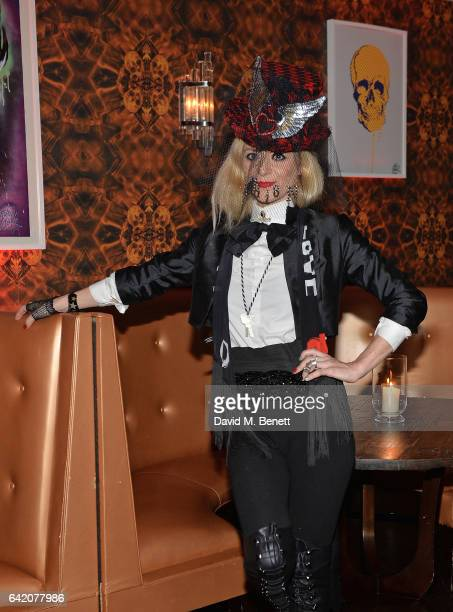 Victoria Grant attends the Victoria Grant x Diana Gomez 'Shoot It Up Knock'em Down' party at the Sanctum Soho on February 16 2017 in London England
