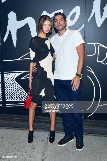 Victoria Gross and Roy Sebag attend Interview Lexus Celebrate September Issue on September 7 2017 in New York City