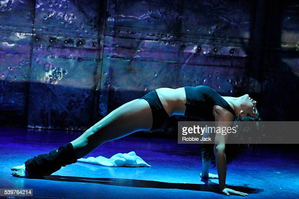 Victoria HamiltonBarritt as Alex Owens in the production Flashdance' choreographed by Arlene Phillips and directed by Nikolai Foster at the...
