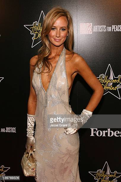 Victoria Harvey arrives at the 5th Annual Hollywood Domino Gala at Sunset Tower Hotel on February 23 2012 in West Hollywood California