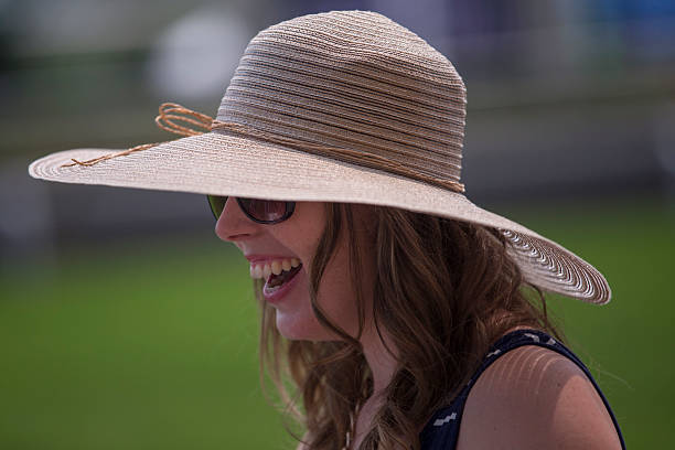 9bc7df0864d Woman Wearing Fancy Hat At The Queen s Plate Pictures