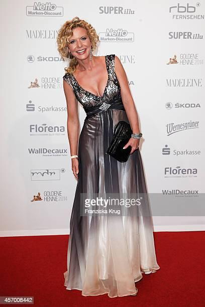Victoria Herrmann attends Madeleine at Goldene Henne 2014 on October 10 2014 in Leipzig Germany