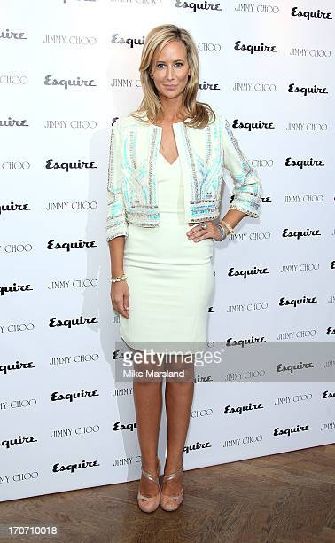 Victoria Hervey attends a party hosted by Jimmy Choo Esquire during the London Collections SS14 on June 16 2013 in London England