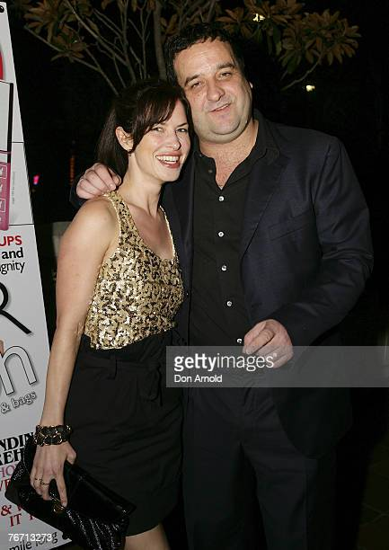 Victoria Hill and Mick Molloy attends the Cleo cocktail party at Hugo's on September 13 2007 in Sydney Australia