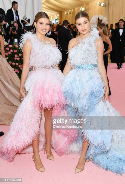 Victoria Iglesias and Cristina Iglesias attend The 2019 Met Gala Celebrating Camp Notes on Fashion at Metropolitan Museum of Art on May 06 2019 in...