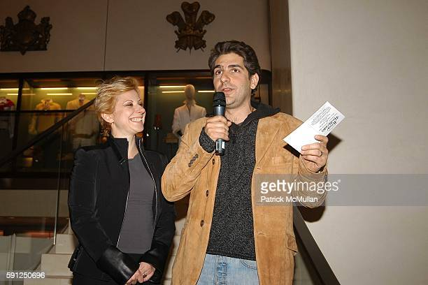 Victoria Imperioli and Michael Imperioli attend Asprey and Michael Imperioli Invite You To A Reading Of Studio Dante's Henry Flamethrowa at Asprey on...