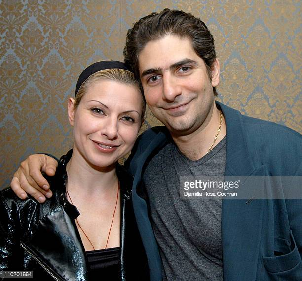 Victoria Imperioli and Michael Imperioli during Gotham Magazine and Pepsi Salute Studio Dante and their First Production Baptism By Fire at Dante...