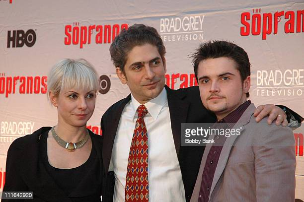 Victoria Imperioli Michael Imperioli and Robert Iler