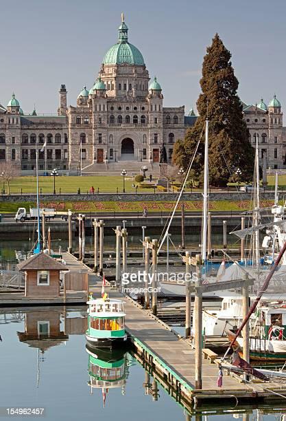 Victoria Inner Harbour and Legislative Building