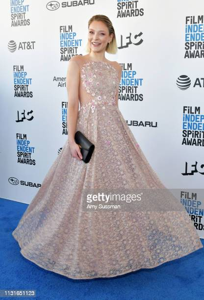 Victoria Jancke attends the 2019 Film Independent Spirit Awards on February 23 2019 in Santa Monica California