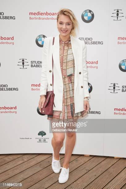 Victoria Jancke attends the Studio Babelsberg Brunch on the occasion of the German Film Award at Zollpackhof Biergarten on May 04 2019 in Berlin...