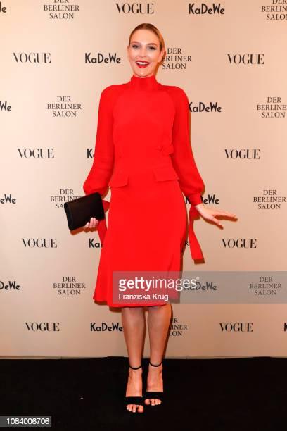 Victoria Jancke during the 'Der Berliner Salon Vote For Fashion IV' presented by KaDeWe & Vogue at KaDeWe on January 17, 2019 in Berlin, Germany.