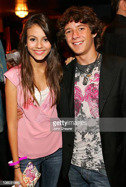 Victoria Justice and Matthew Underwood during The AIDS Healthcare Foundation Presents Hot In Hollywood at Henry Fonda Theatre in Hollywood California...