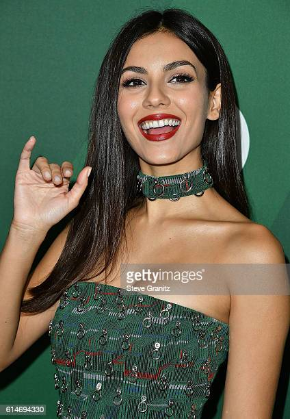 Victoria Justice arrives at the Variety's Power Of Women Luncheon 2016 at the Beverly Wilshire Four Seasons Hotel on October 14 2016 in Beverly Hills...