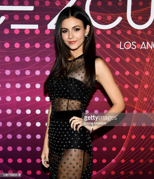 Victoria Justice attends amfAR Dance2Cure at Bardot on December 1 2018 in Hollywood California