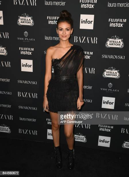 Victoria Justice attends Harper's BAZAAR Celebration of 'ICONS By Carine Roitfeld' at The Plaza Hotel presented by Infor Laura Mercier Stella Artois...