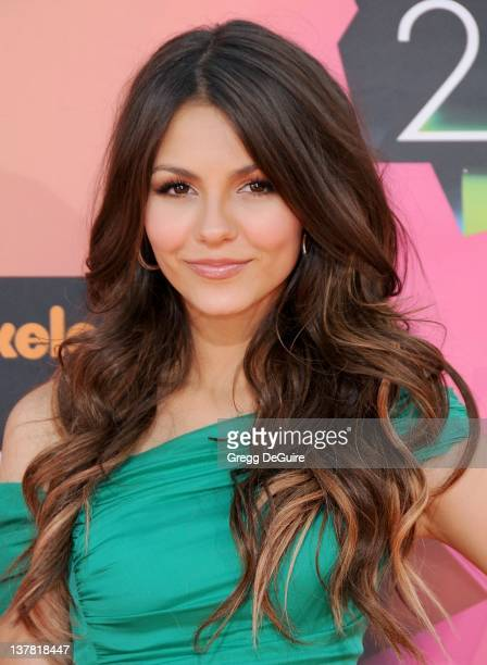 Victoria Justice attends Nickelodeon's 23rd Annual Kids' Choice Awards held at Pauley Pavilion at UCLA on March 27, 2010 in Los Angeles, California.