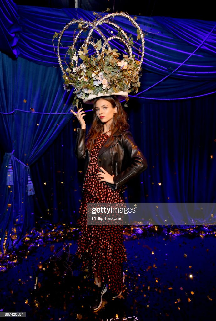Victoria Justice attends Refinery29 29Rooms Los Angeles: Turn It Into Art Opening Night Party at ROW DTLA on December 6, 2017 in Los Angeles, California.