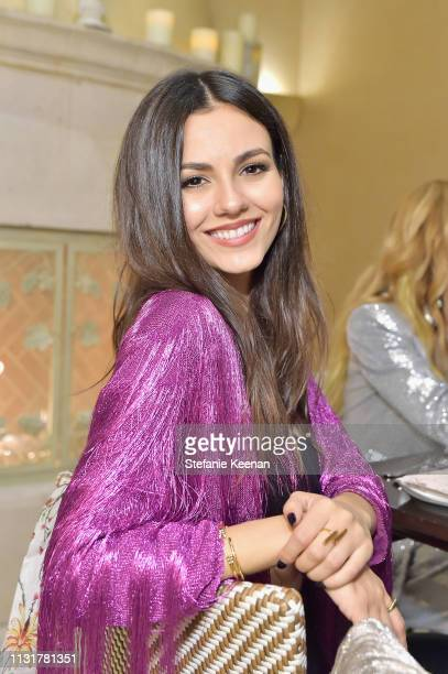 Victoria Justice attends Spring 2019 Box of Style by Rachel Zoe Dinner at Montage Beverly Hills on March 20 2019 in Beverly Hills California