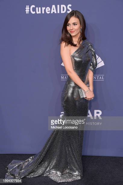 Victoria Justice attends the 2020 amfAR New York Gala on February 05 2020 in New York City