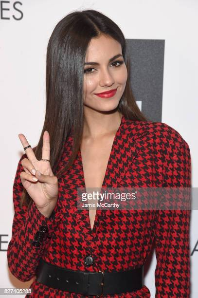 Victoria Justice attends the Accessories Council's 21st Annual celebration of the ACE awards at Cipriani 42nd Street on August 7 2017 in New York City