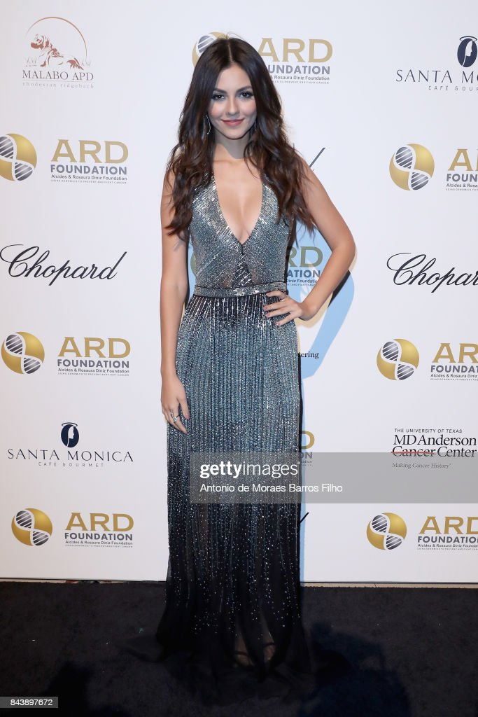 Victoria Justice attends the Alcides & Rosaura (ARD) Foundations' 'A Brazilian Night' to Benefit Memorial Sloan Kettering Cancer Center (MSK) at Cipriani 42nd Street on September 7, 2017 in New York City.
