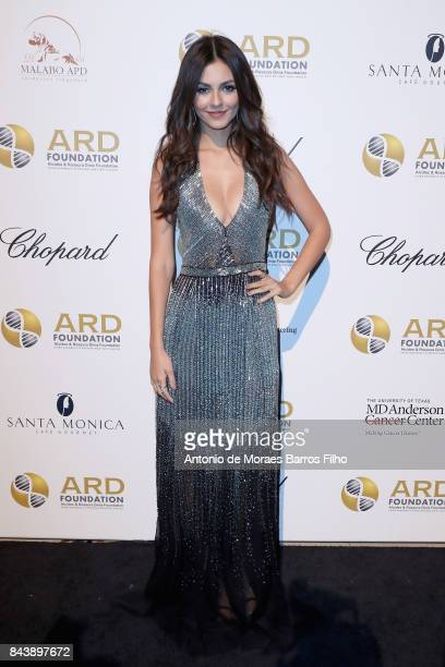 Victoria Justice attends the Alcides Rosaura Foundations' 'A Brazilian Night' to Benefit Memorial Sloan Kettering Cancer Center at Cipriani 42nd...