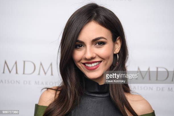 Victoria Justice attends the LMDM Grand Opening Party on March 22 2018 in New York City
