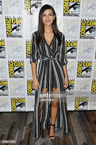 Victoria Justice attends the press line for 'Rocky Horror Picture Show' on July 21 2016 in San Diego California