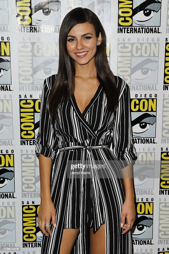 Victoria Justice attends the press line for 'Rocky Horror Picture Show' on July 21, 2016 in San Diego, California.